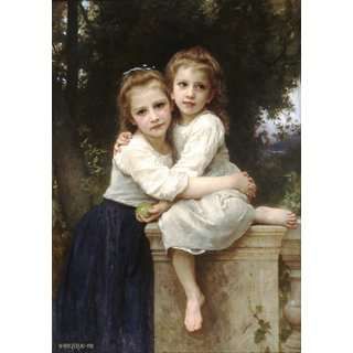 The Museum Outlet - Two Sisters - Poster Print Online Buy (24 X 32 Inch)