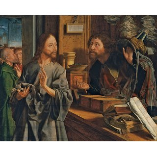 The Museum Outlet - The calling of Matthew (about 1530) - Poster Print Online Buy (30 X 40 Inch)
