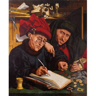 The Museum Outlet - Two tax Collectors - Poster Print Online Buy (30 X 40 Inch)