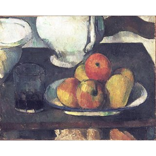 The Museum Outlet - Still Life with Apples and a Glass of Wine, 1877-79 - Poster Print Online Buy (24 X 32 Inch)