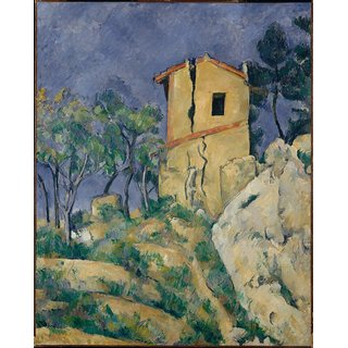 The Museum Outlet - The House with the Cracked Walls, 1892-94 - Poster Print Online Buy (24 X 32 Inch)