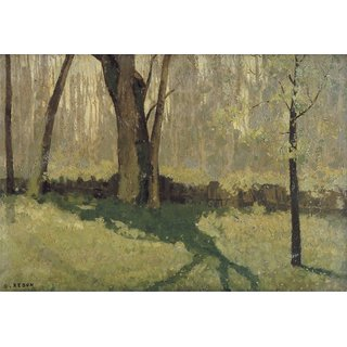 The Museum Outlet - Undergrowth in Spring - Poster Print Online Buy (24 X 32 Inch)