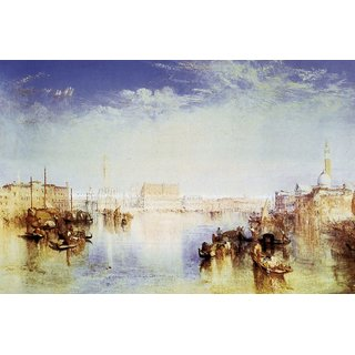 The Museum Outlet - San Giorgio Venice  by Joseph Mallord Turner - Poster Print Online Buy (24 X 32 Inch)