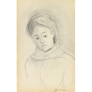 The Museum Outlet - Young Girl - Poster Print Online Buy (24 X 32 Inch)