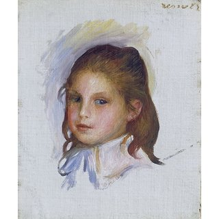 The Museum Outlet - Child with Brown Hair, 1887-88 - Poster Print Online Buy (24 X 32 Inch)