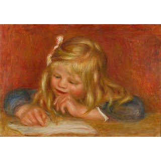 The Museum Outlet - Coco Writing, 1905 - Poster Print Online Buy (24 X 32 Inch)