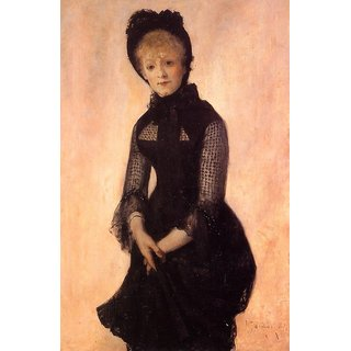The Museum Outlet - Portrait of Harriet Hubbard Ayer, 1879 - Poster Print Online Buy (24 X 32 Inch)