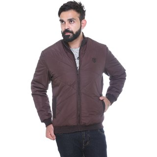 Trufit Coffee  Long Sleeve Mens Jacket
