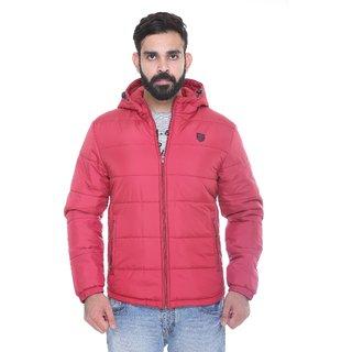 Trufit Maroon  Long Sleeve Mens Jacket