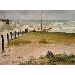 The Museum Outlet - The Coast of Holland, 1884. - Poster Print Online Buy (24 X 32 Inch)