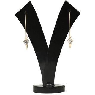 GM International Golden Colour New Design Brass Earrings For Women (GM-EAR-63)
