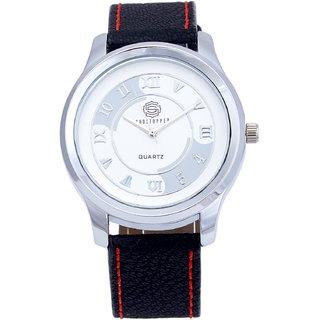 Shostopper Roman Numeric White Dial Analogue Watch For Men - SJ60021WM