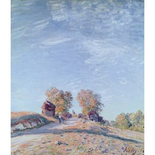 The Museum Outlet - Hill Path in Sunlight, 1892 - Poster Print Online Buy (30 X 40 Inch)