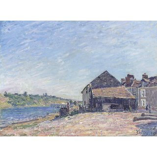 The Museum Outlet - Landscape near Moret, 1885 - Poster Print Online Buy (30 X 40 Inch)