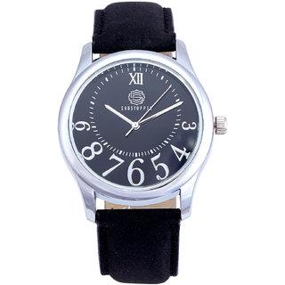 Shostopper Royale Black Dial Analogue Watch For Men - SJ60020WM