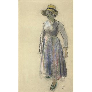 The Museum Outlet - The Cowgirl, 1892 - Poster Print Online Buy (24 X 32 Inch)