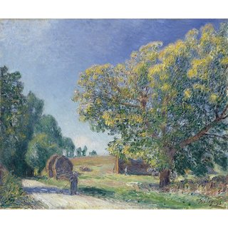 The Museum Outlet - A Forest Clearing, 1885 - Poster Print Online Buy (30 X 40 Inch)