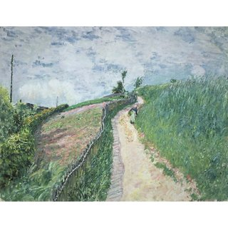 The Museum Outlet - Path Leading to Village Avray, 1879 - Poster Print Online Buy (30 X 40 Inch)