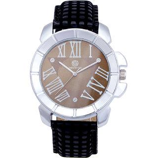 Shostopper Luxuruios Brown Dial Analogue Watch For Men - SJ60012WM