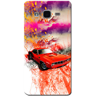 Cell First Silicon Designer Back Cover for Samsung On5 Pro-Multicolor sncf-SPGalaxyOn5Pro-480