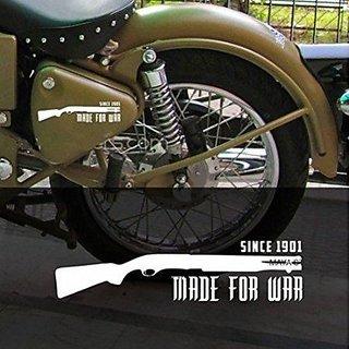 buy made for war vinyl decal ticker for bullet bike sticker online