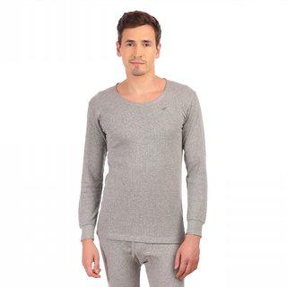 Neva Grey Plain Upper Thermal For Men