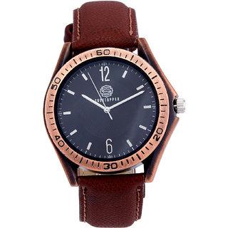 Shostopper Antique Black Dial Analogue Watch For Men - SJ60003WM