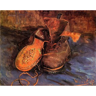 The Museum Outlet - A Pair of Shoes4 - Poster Print Online Buy (24 X 32 Inch)