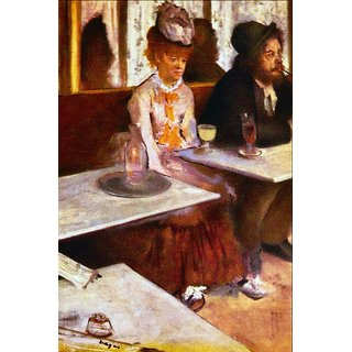 The Museum Outlet - Absinthe Drinkers by Degas - Poster Print Online Buy (24 X 32 Inch)
