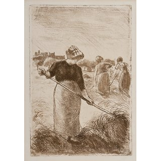 The Museum Outlet - Women Haying, 1890 - Poster Print Online Buy (24 X 32 Inch)