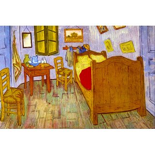 The Museum Outlet - Bedroom at Arles by van Gogh - Poster Print Online Buy (24 X 32 Inch)