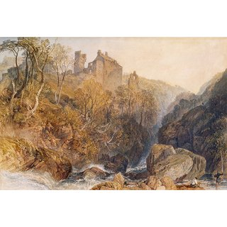 The Museum Outlet - Rosslyn Castle, 1817 - Poster Print Online Buy (24 X 32 Inch)
