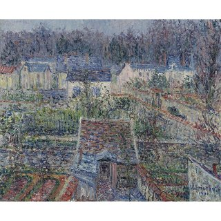 The Museum Outlet - The Village of Triel, 1900 - Poster Print Online Buy (24 X 32 Inch)