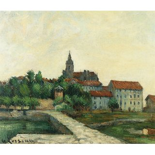 The Museum Outlet - Townscape, 1907 - Poster Print Online Buy (24 X 32 Inch)