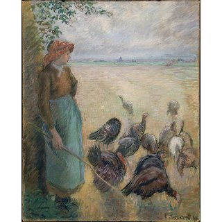 The Museum Outlet - Turkey Girl, 1884 - Poster Print Online Buy (24 X 32 Inch)