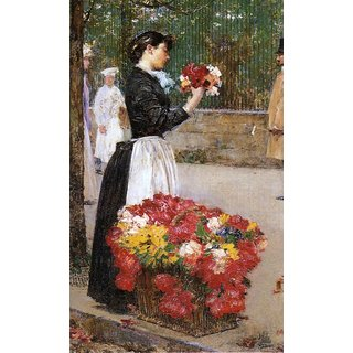 The Museum Outlet - Flower Girl, 1888 - Poster Print Online Buy (24 X 32 Inch)