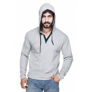 Demokrazy Men's Silver Sweatshirt