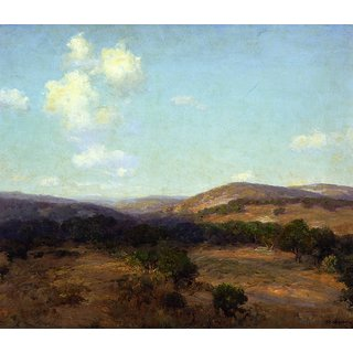 The Museum Outlet - Bandera Hills - Poster Print Online Buy (24 X 32 Inch)