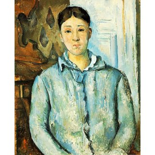 The Museum Outlet - Portrait of Madame Cezanne - Poster Print Online Buy (24 X 32 Inch)
