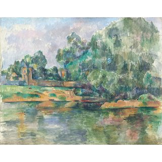 The Museum Outlet - Riverbank, 1895 - Poster Print Online Buy (24 X 32 Inch)