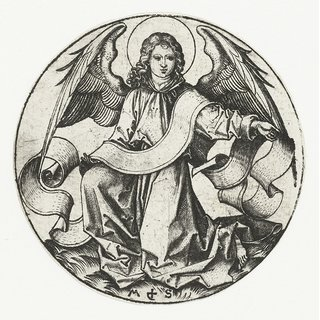 The Museum Outlet - The angel of the evangelist Matthew. 1470-1490 - Poster Print Online Buy (24 X 32 Inch)