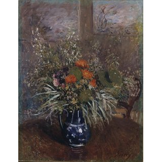The Museum Outlet - Bouquet of Flowers, 1875 - Poster Print Online Buy (24 X 32 Inch)