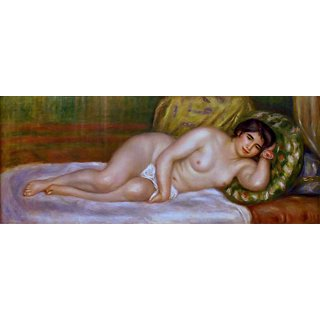 The Museum Outlet - Nude Reclining (Gabrielle) - Poster Print Online Buy (24 X 32 Inch)