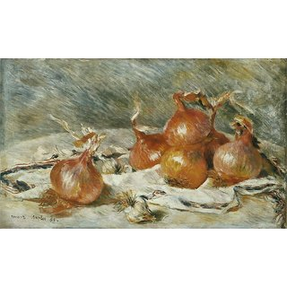 The Museum Outlet - Onions, 1881 - Poster Print Online Buy (24 X 32 Inch)