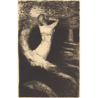 The Museum Outlet - Passage of a Spirit, 1891 - Poster Print Online Buy (24 X 32 Inch)