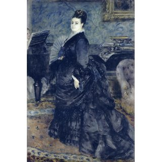 The Museum Outlet - Portrait of Mme Georges Hartmann, 1874 - Poster Print Online Buy (24 X 32 Inch)
