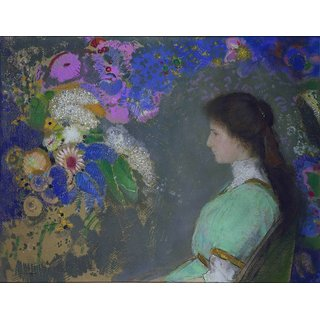 The Museum Outlet - Portrait of Violette Heyman, 1909 - Poster Print Online Buy (24 X 32 Inch)