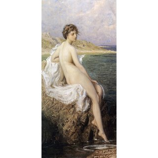 The Museum Outlet - The Bathers, 1896 - Poster Print Online Buy (24 X 32 Inch)