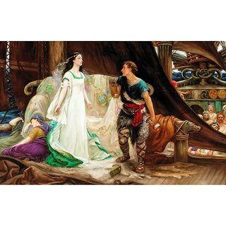 The Museum Outlet - Tristan and Isolde, 1901 - Poster Print Online Buy (24 X 32 Inch)