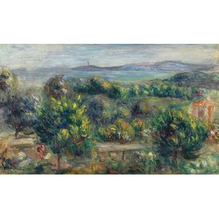 The Museum Outlet - Landscape with Trees in Yellow, 1900 - Poster Print Online Buy (24 X 32 Inch)